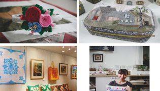 Giới thiệu nghệ thuật Quilt Nhật Bản